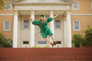 Celebrating the no student loans thanks to strategic college planning